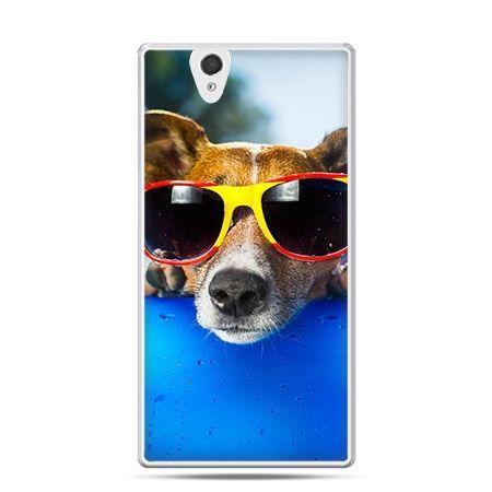 Etui na Sony Xperia Z pies w okularach