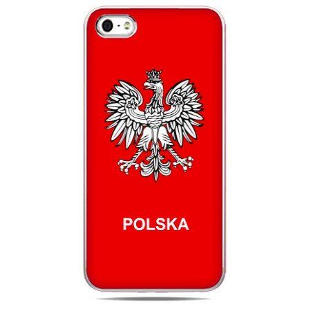 etui na telefon z godłem polskim