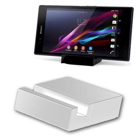 Sony Xperia Z1, Z2 magnetyczna stacja dokująca - Biała