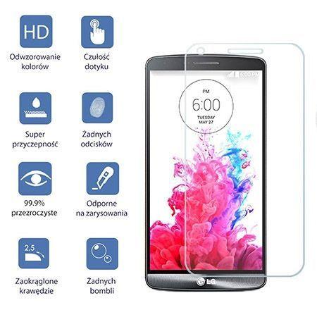 LG G3 hartowane szkło ochronne na ekran 9h - szybka