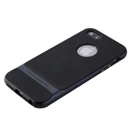 Etui na telefon iPhone 6 / 6s Rock Royce - grafitowe.