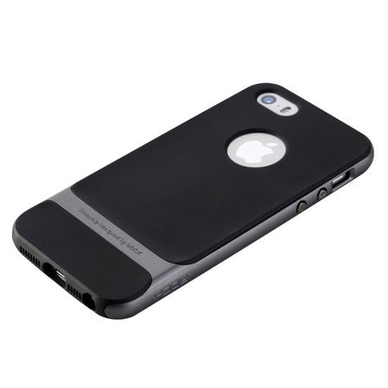 Etui na telefon iPhone 6 / 6s Rock Royce - srebrne.