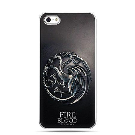 Etui na telefon Gra o Tron Targaryen house herb