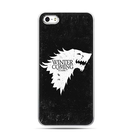 Etui na telefon Gra o Tron Winter is Coming biała