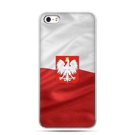 Patriotyczne etui flaga Polski z godłem