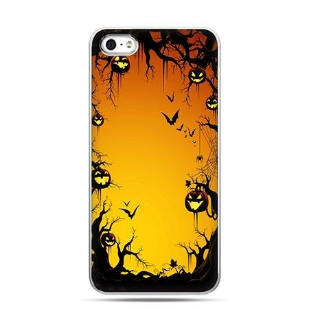 Etui na telefon Halloween las dyniowy