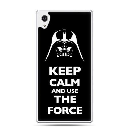 Etui na Xperia M4 Aqua Keep calm and use the force