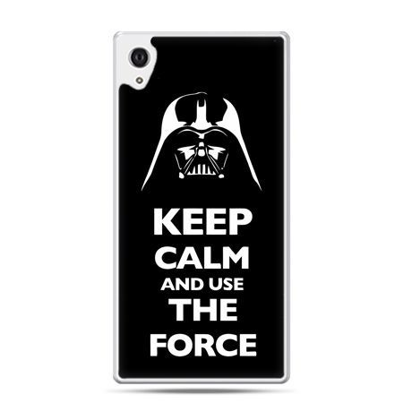 Etui na Xperia M4 Aqua Keep calm and use the force