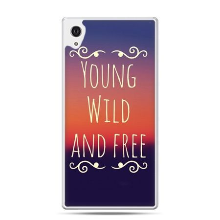 Etui na Xperia M4 Aqua Young wild and free