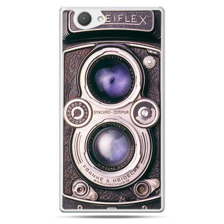 Xperia Z1 compact etui aparat Rolleiflex