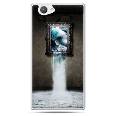 Xperia Z1 compact etui obraz wodospad