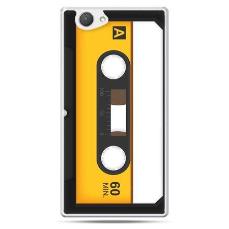 Xperia Z1 compact etui kaseta magnetofonowa