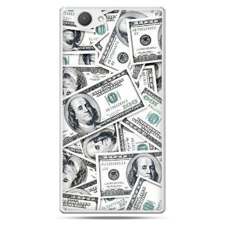 Xperia Z1 compact etui dolary banknoty