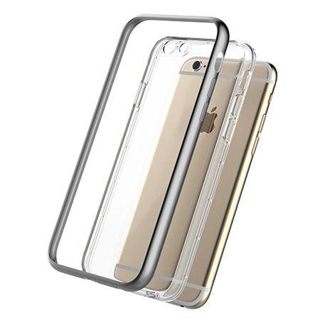 iPhone 6 Plus Eleganckie Etui - Szare Rock Kani
