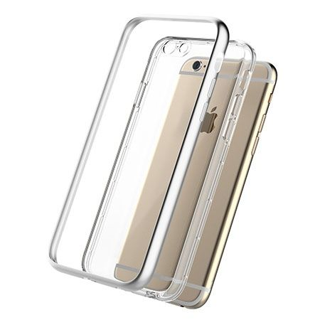 iPhone 6 Luksusowe Srebrne Etui Rock Kani