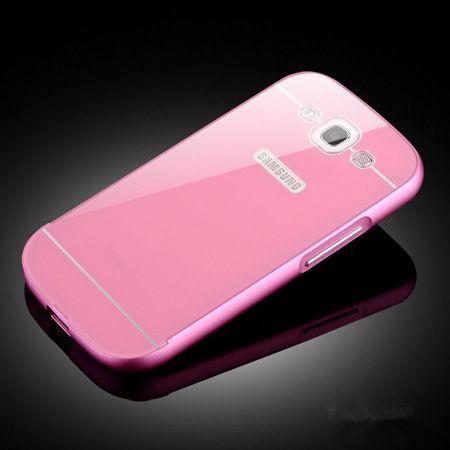 Galaxy S3 etui aluminium bumper case różwy