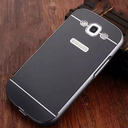 Galaxy S3 etui aluminium bumper case czarny