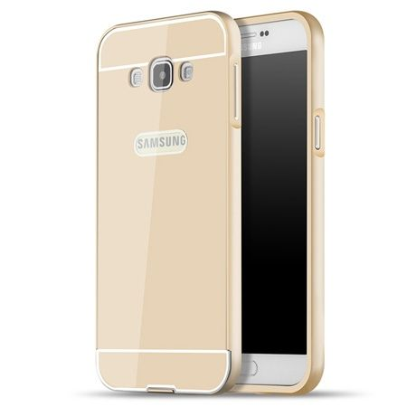 Galaxy A5 etui aluminium bumper case złoty.