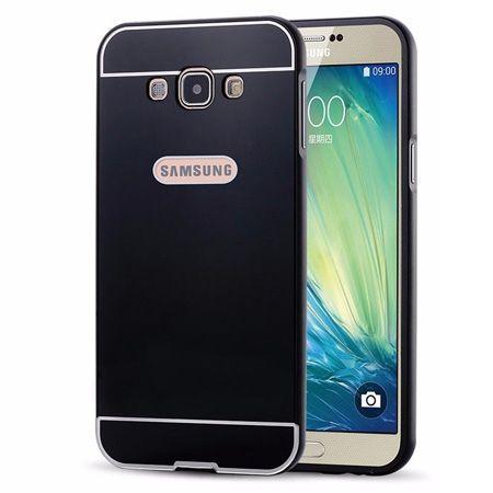 Galaxy A5 etui aluminium bumper case czarny