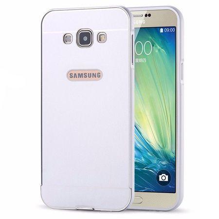 Samsung Galaxy A5 etui aluminium bumper case srebrny.