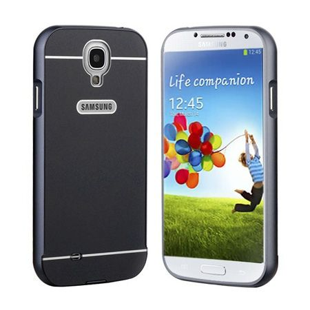Galaxy S4 etui aluminium bumper case czarny