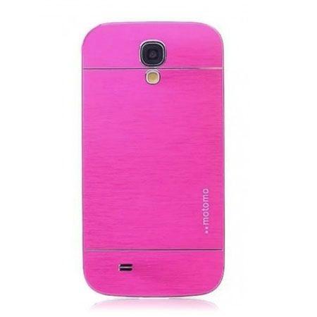 Galaxy S4 etui Motomo aluminiowe różowy. PROMOCJA !!!