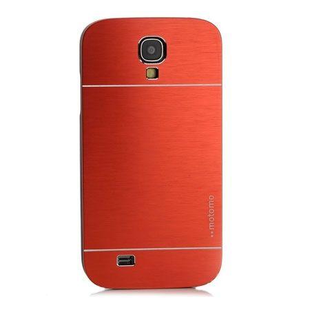 Galaxy S4 etui Motomo aluminiowe czerwony.