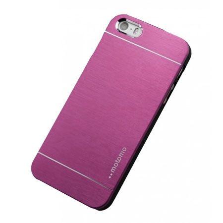 iPhone 5 5s etui Motomo aluminiowe różowy. PROMOCJA !!!