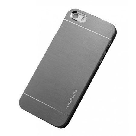 iPhone 5 5s etui Motomo aluminiowe srebrny.
