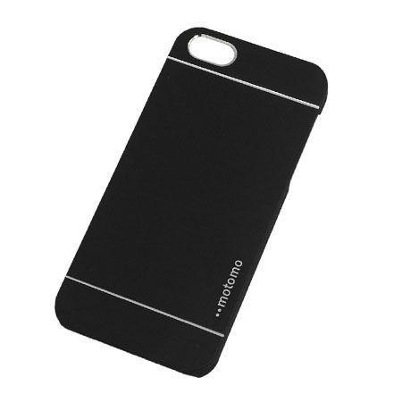 iPhone 5 5s etui Motomo aluminiowe czarny.