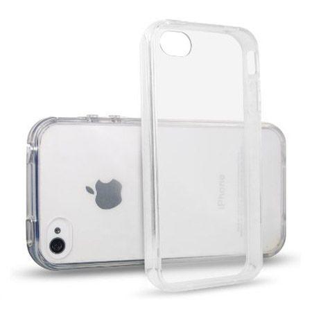 iPhone 4 / 4s silikonowe przezroczyste etui crystal case.