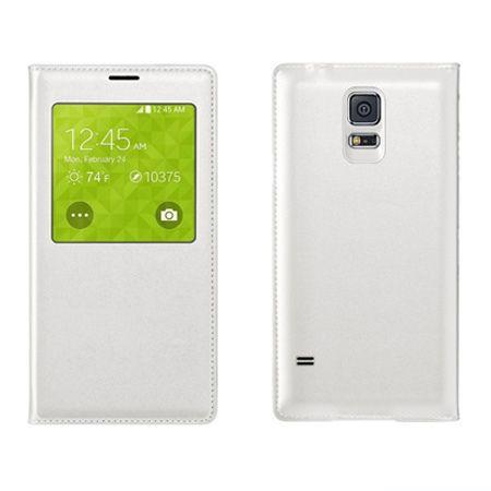 Galaxy S5 etui Flip S View biały