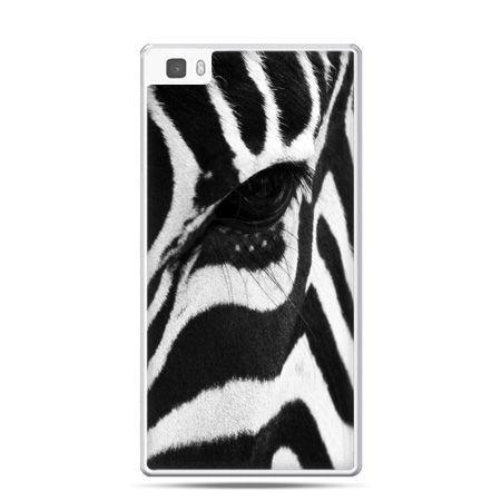 Huawei P8 Lite etui zebra