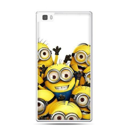 Huawei P8 Lite etui Minionki
