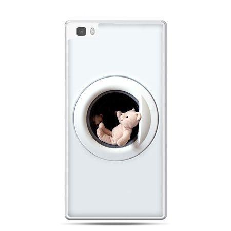 Huawei P8 Lite etui miś w pralce