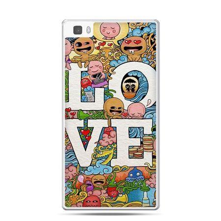 Huawei P8 Lite etui LOVE