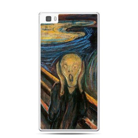 Huawei P8 Lite etui Krzyk Munka