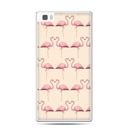 Huawei P8 Lite etui flamingi