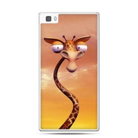 Huawei P8 Lite etui śmieszna żyrafa