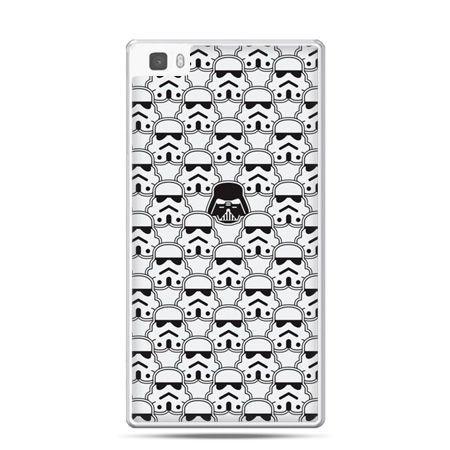 Huawei P8 Lite etui Gwiezdne wojny klony