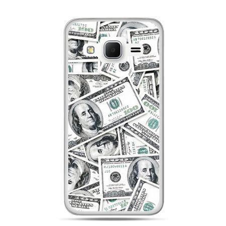 Galaxy Grand Prime etui dolary banknoty