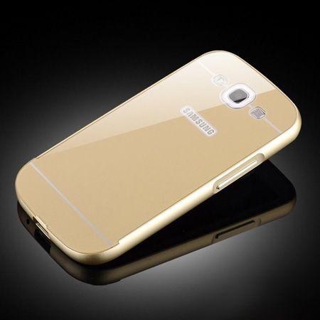 Galaxy S3 etui aluminium bumper case złoty.