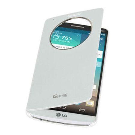 LG G3s etui Flip S View Circle biały