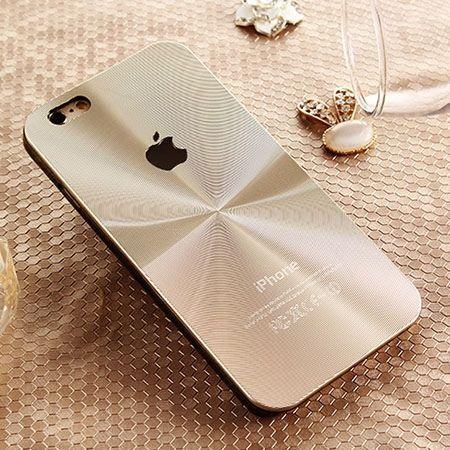 iPhone 6 złote plecki aluminiowe efekt cd
