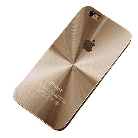 iPhone 5 złote plecki aluminiowe efekt cd