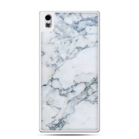 HTC Desire 816 etui biały marmur