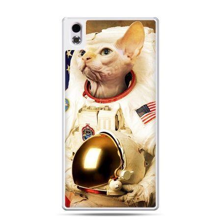 HTC Desire 816 etui kot astronauta