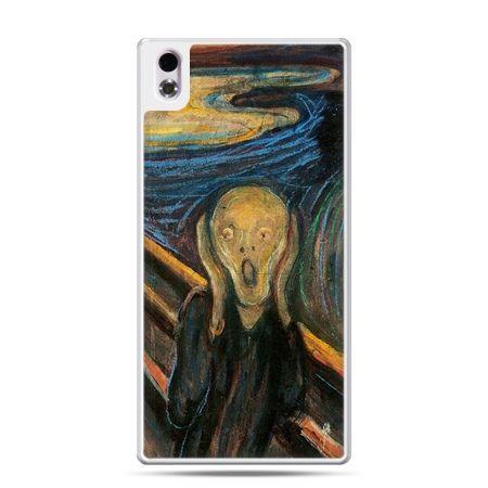 HTC Desire 816 etui Krzyk Munka