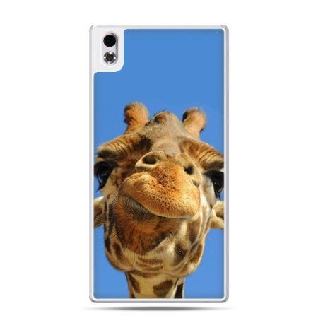 HTC Desire 816 etui zabawna żyrafa