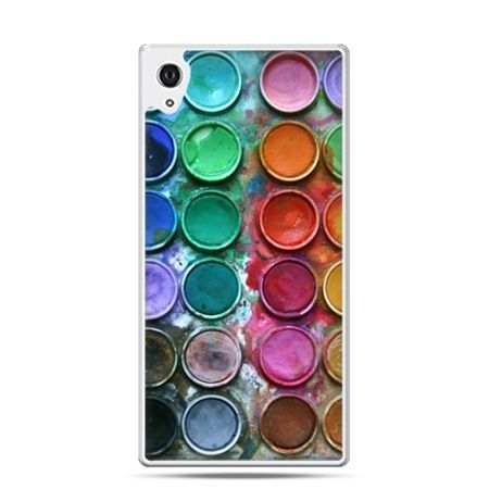 Etui Xperia Z4 kolorowe farbki